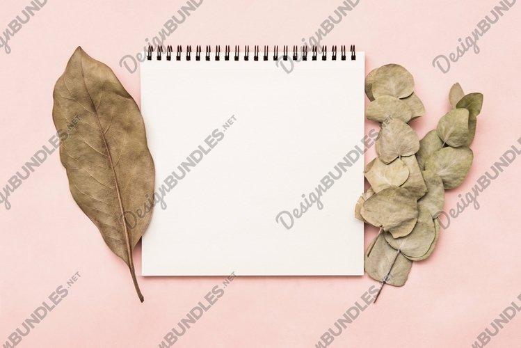 Sketchbook notepad mockup example image 1