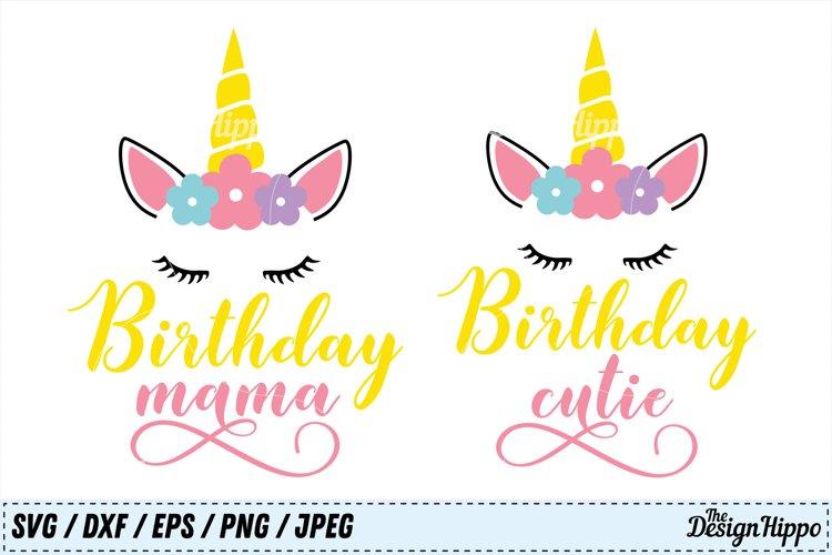 Birthday SVG Bundle, Birthday Mama SVG, Birthday Cutie SVG