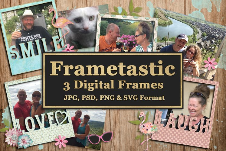 Frametastic Digital Frames and Cuttables example image 1