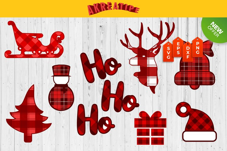 Christmas Ornaments SVG|Christmas Bundle SVG|Sublimation example image 1