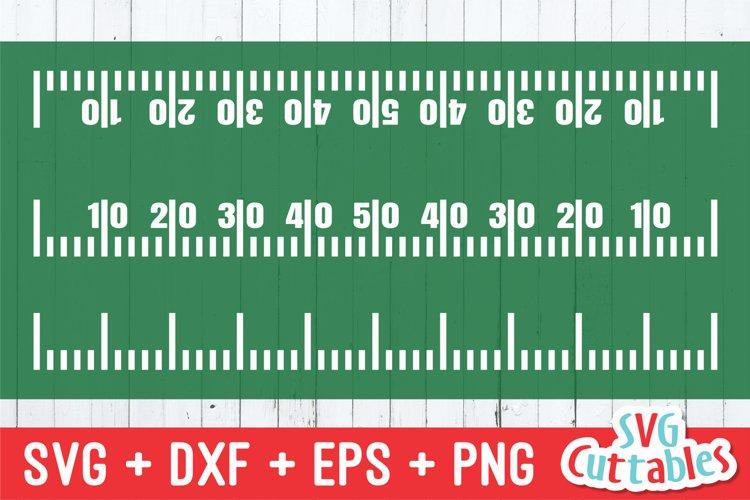 Football SVG | Football Yard Line