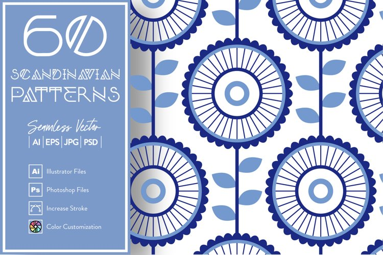 60 Scandinavian Patterns example image 1