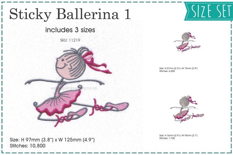 Sticky Ballerina 1
