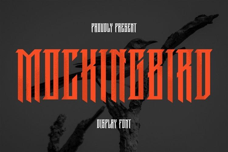Web Font MockingBird Font example image 1