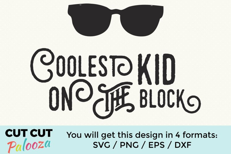 Coolest kid on the block example image 1
