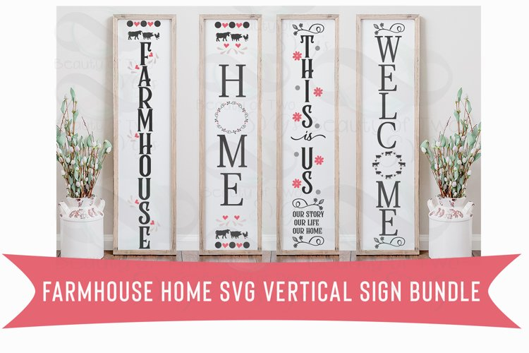 Farmhouse Vertical svg sign bundle, Farmhouse vertical svg
