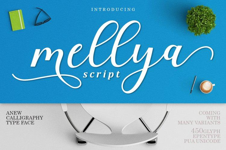 Mellya Script example image 1