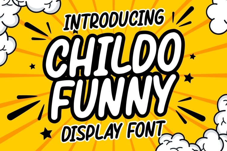 Childo    Funny Font example image 1