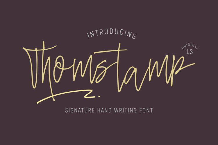 Thomstamp example image 1