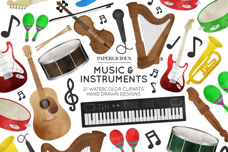 Music Cliparts example image 1