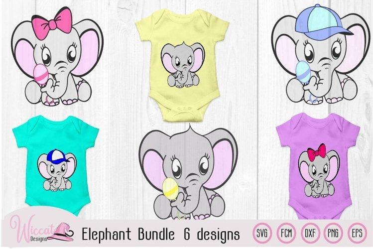 Elephant bundle, Baby elephant, Neutral boy, girl