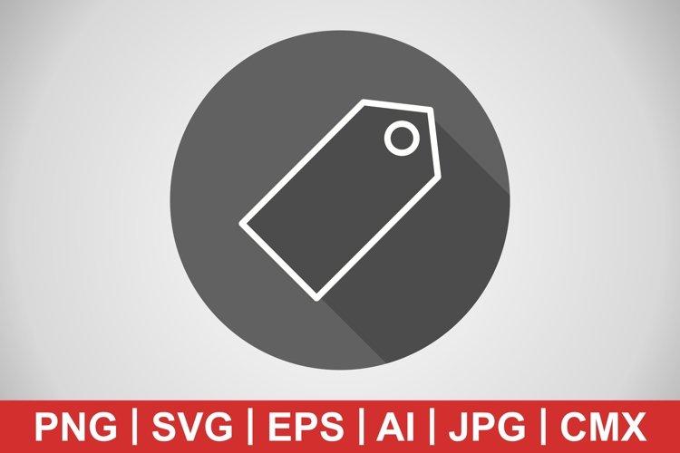 Vector Tag Icon example image 1