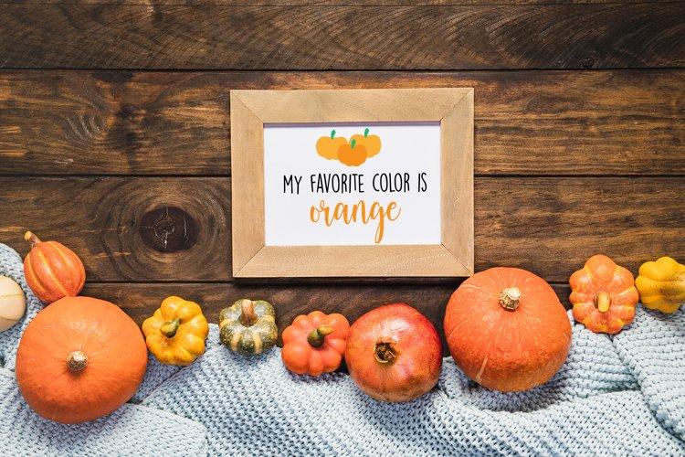Download My Favorite Color Is Autumn – Svg File Image