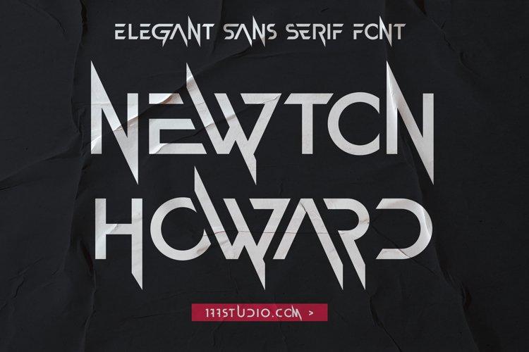 Newton Howard Font example image 1