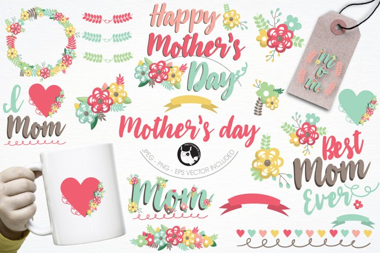 Mother's day graphics and illustrations - Free Design of The Week Font