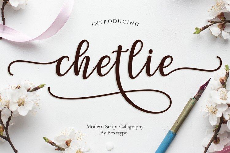 Chetlie Script example image 1