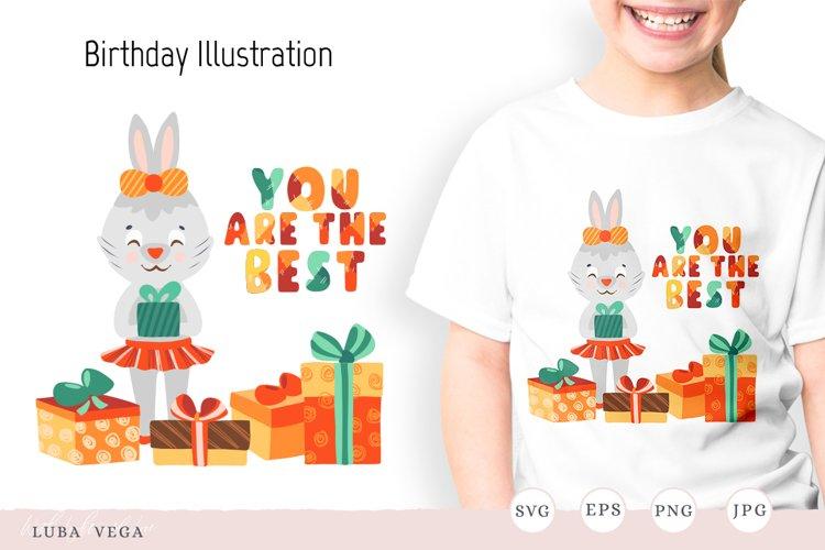 Birthday Illustration / happy birthday