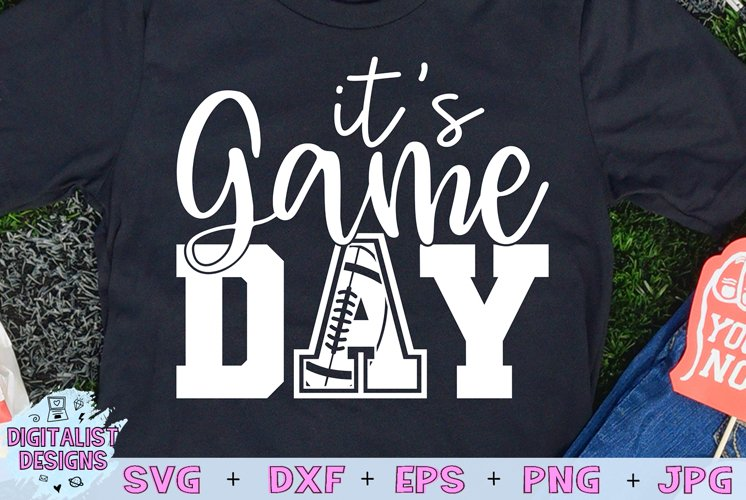 Football SVG | Game Day SVG | Cricut | Sports example image 1