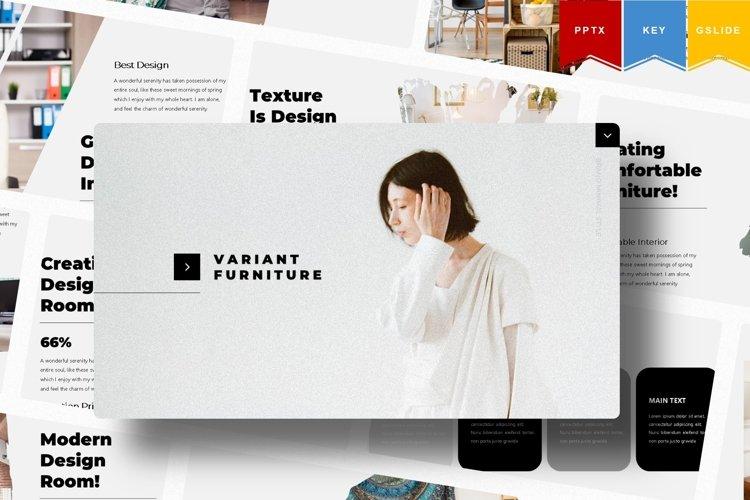 Variant Furniture | Powerpoint,Keynote,GoogleSlides Template example image 1