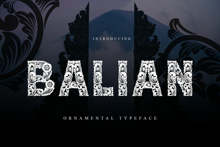 Balian Typeface example image 1