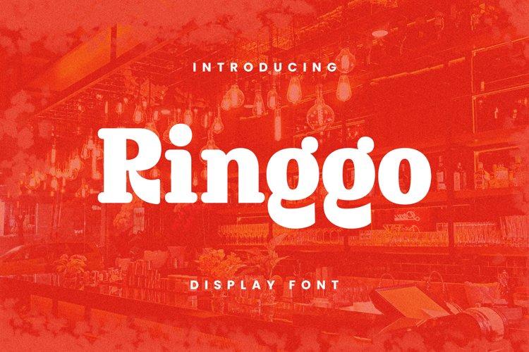 Ringgo Font example image 1