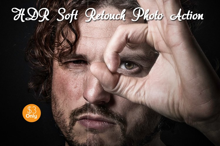 HDR Soft Retouch Photo Action example image 1