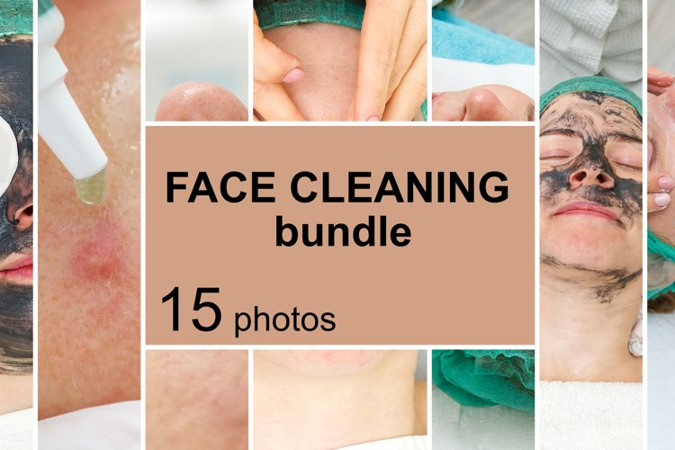 Bundle of Cosmetology concept with 15 photos.