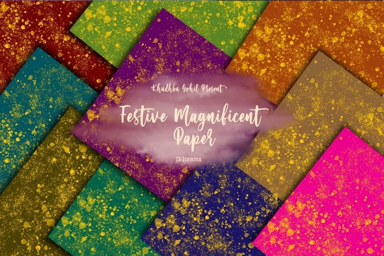 Festive Magnificent Paper example image 1