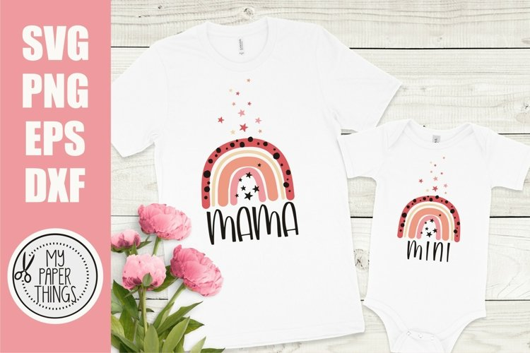 Mommy and me svg Bundle | Mama and mini svg Bundle - Free Design of The Week Design1