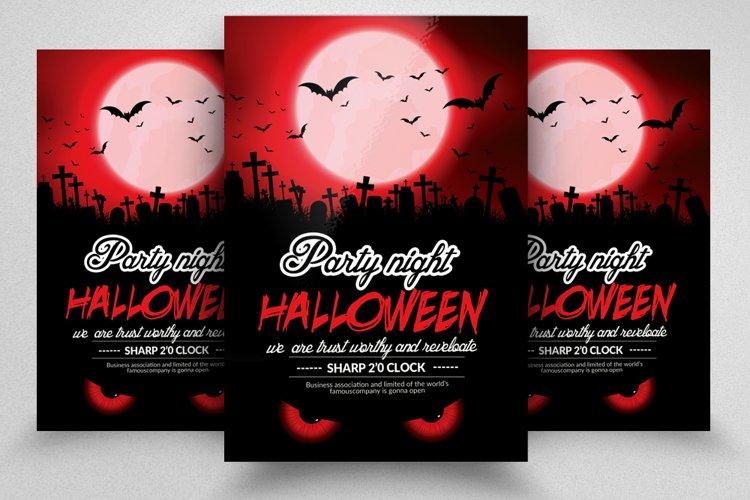Halloween Night Flyer example image 1
