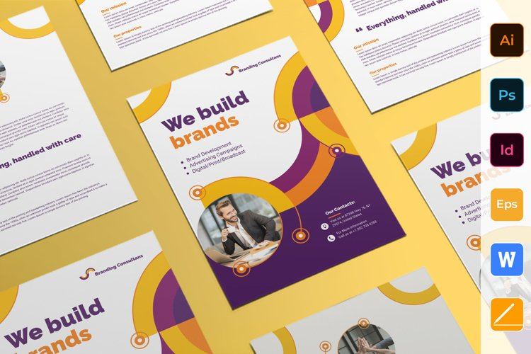 Branding Consultant Flyer example image 1