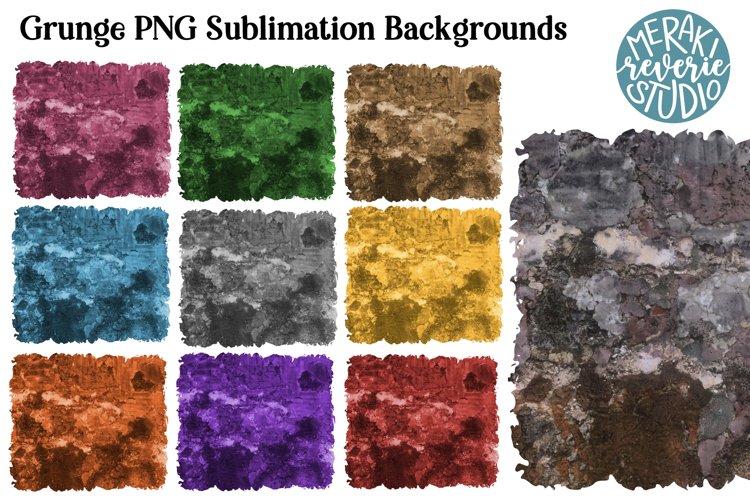 Grunge Backgrounds for Sublimation example image 1