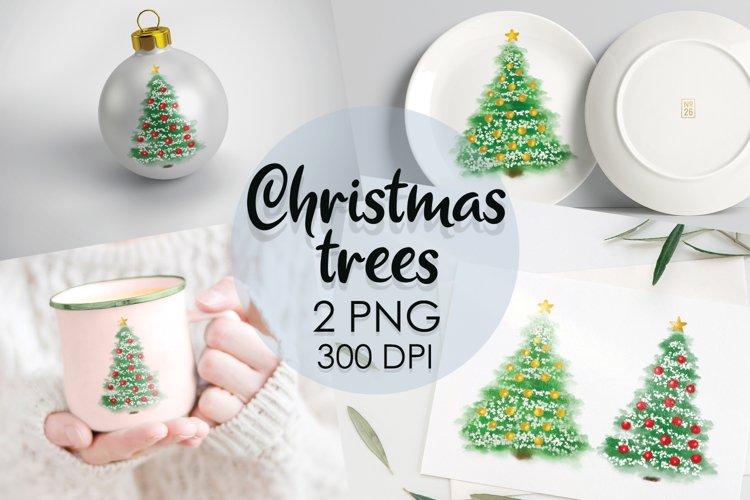 Christmas Tree Png, Christmas Clipart, Christmas Png, Winter example image 1
