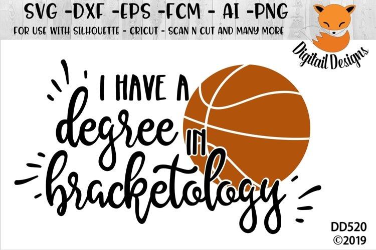 Basketball Bracket SVG