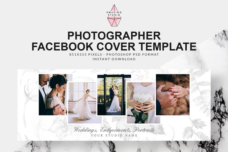Photographer Facebook Cover Template - FBC009