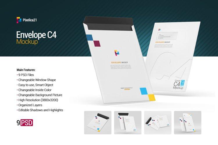 Envelope C4 Mockup example image 1