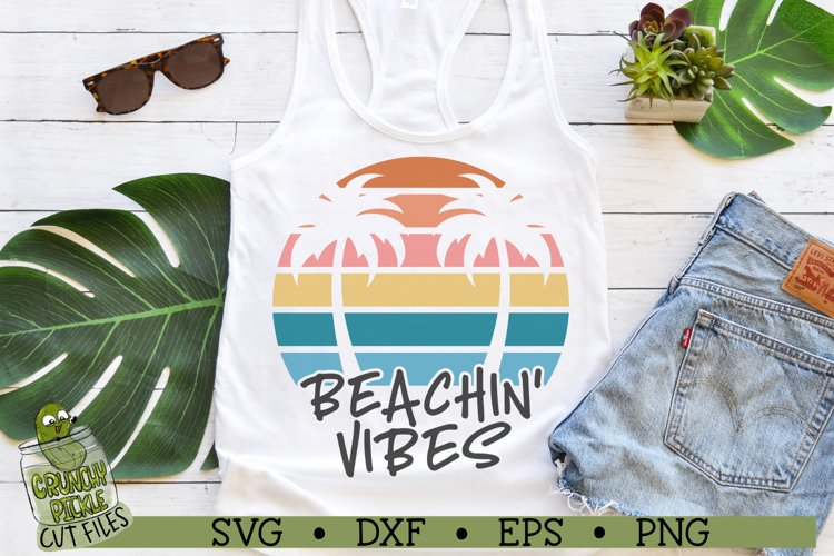 Beachin Vibes Smooth SVG Cut File