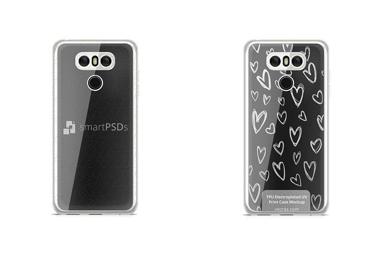 LG G6 TPU Electroplated Case Design Mock-up 2017 example image 1