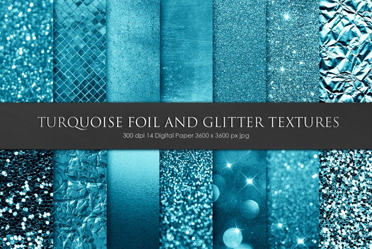 Foil and Glitter Textures, Backgrounds