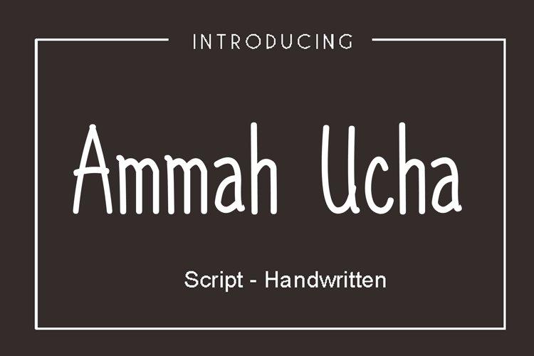 Ammah Ucha example image 1