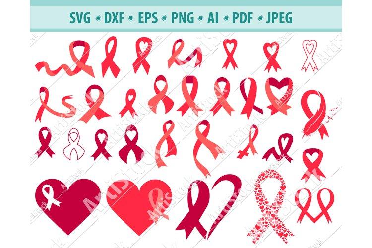 Cancer Ribbon SVG, Fight Svg, Cancer Survivor Dxf, Png, Eps