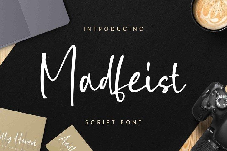 Madfeist Font example image 1