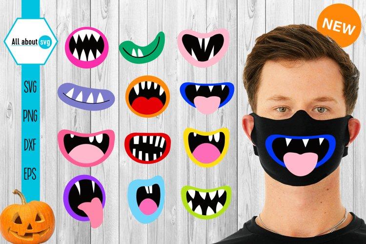 Halloween Mouth Svg Face Mask Halloween Svg 856407 Cut Files Design Bundles