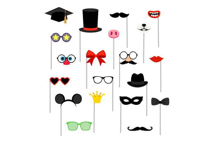 Photo booth accessories. example image 1