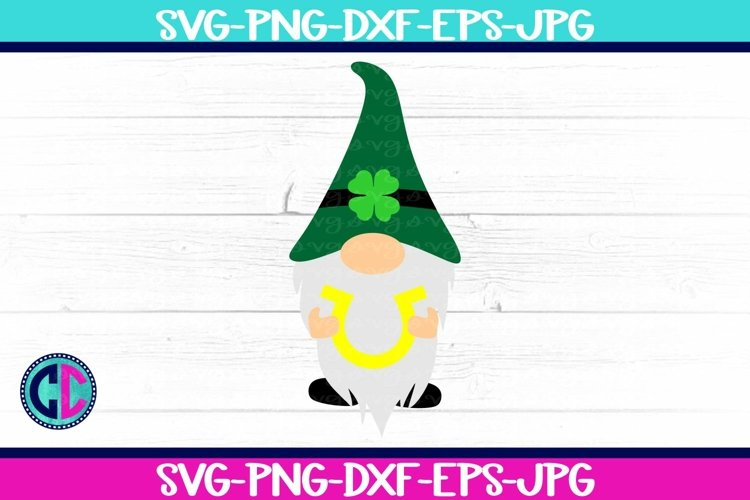 Lucky Horseshoe Gnome SVG example image 1