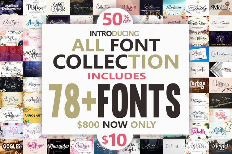 All Font Collection example image 1