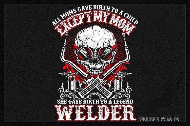 Welder Skull