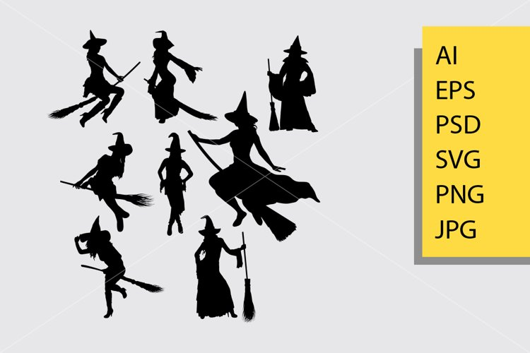 Witch silhouette example image 1