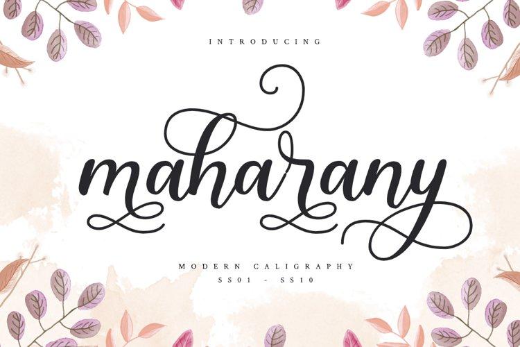Maharany example image 1