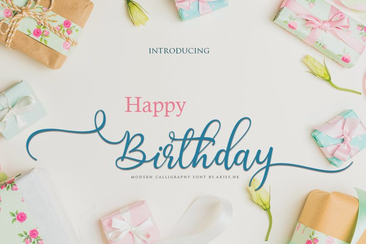 Birthday example image 1